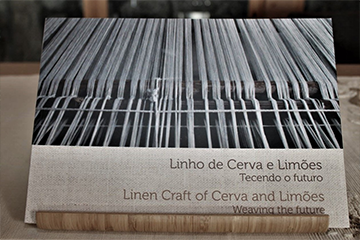 "Book Linen Craft of Cerva and Limões: weaving the future"" PT/EN"